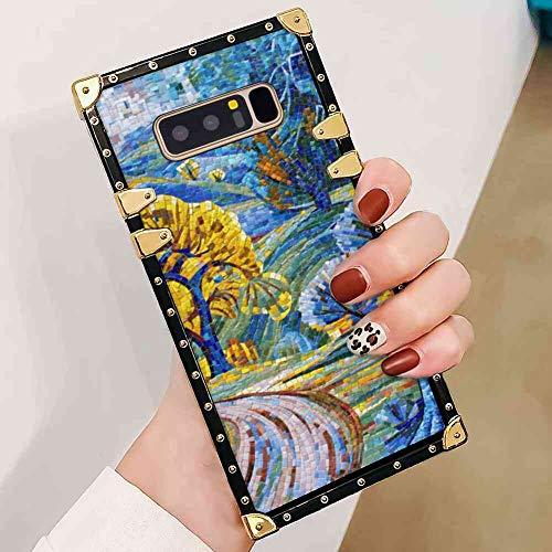 Mosaic Galaxy Note 8 Square Corner Case Cover - Mosaic Corner Stone