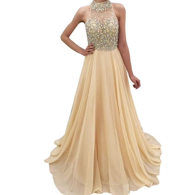 e66c5d0cc83 ZTY66 Women s Mermaid Long Bridesmaid Dress Sequins Wedding Party Prom Gown  ...