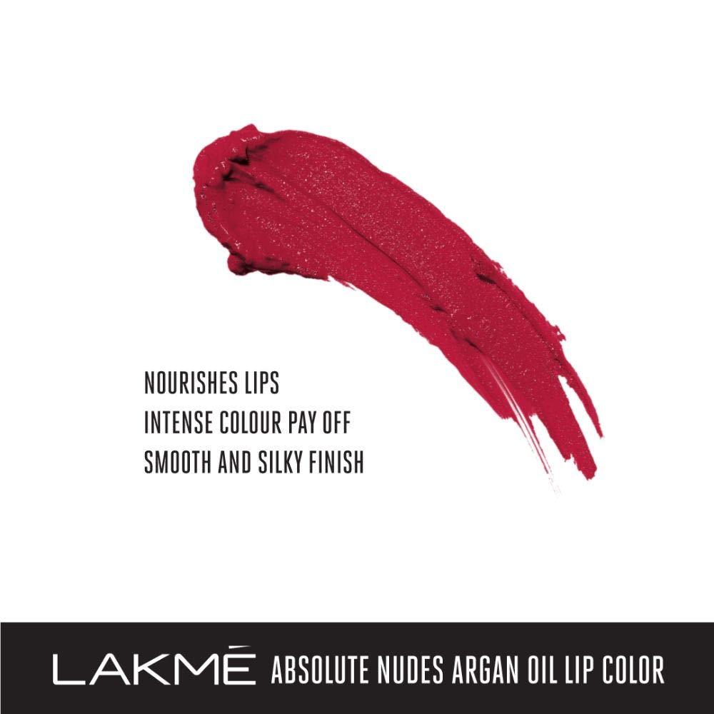 Lakme-Absolute-Argan-Oil-Lip-Color-Long-Lasting-Waterproof-Lipstick thumbnail 15