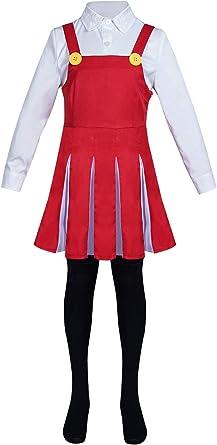 Kids Girls Eri Cosplay Costume My Hero Academia Cultural Festival Dress