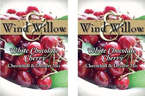 Wind & Willow Sweet Cheeseball and Dessert Mix - 3.5 Oz. (2-pack) (White Chocolate Cherry) ()