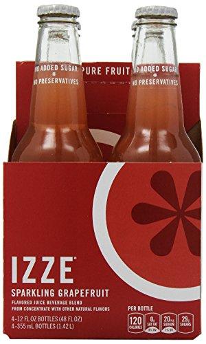 Izze-Sparkling-Grapefruit-12-oz-Pack-of-4