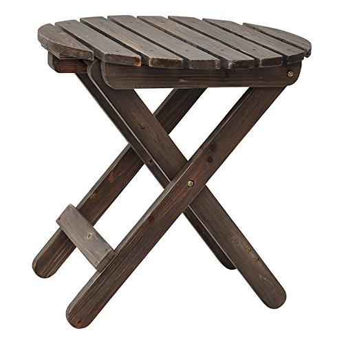 Adirondack Cedar Side Table - 8