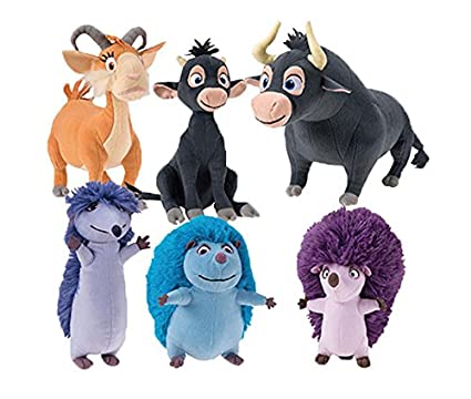 f87962d256a Amazon.com  FERDINAND 7 TO 9 INCHES PLUSH (6 PIECE SET)  Toys   Games