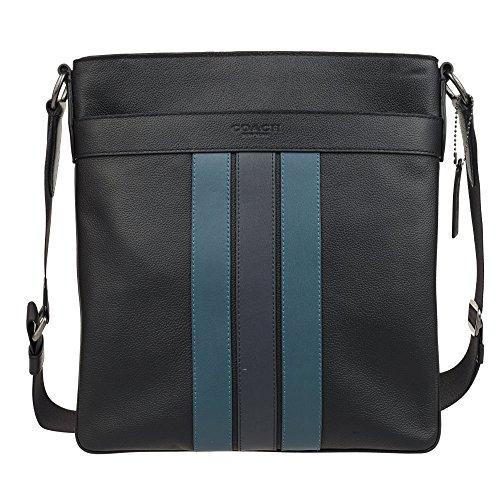 COACH Mens Leather Hand shoulder bag F23216 (BLACK)