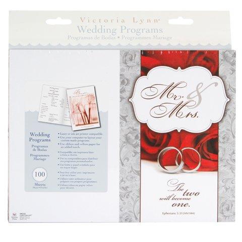 amazon com victoria lynn wedding programs 2 become 1 theme 100
