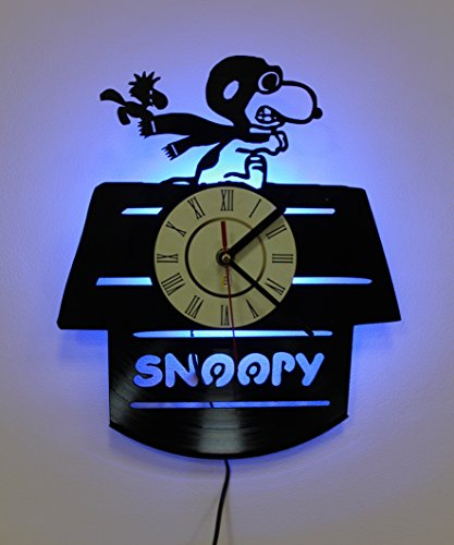 Snoopy Woodstock Wall Lamp Shade, Night Light Function, Perfect Gift Idea for Youth and Kids