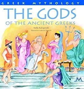Hardcover The Gods of the Ancient Greeks Book