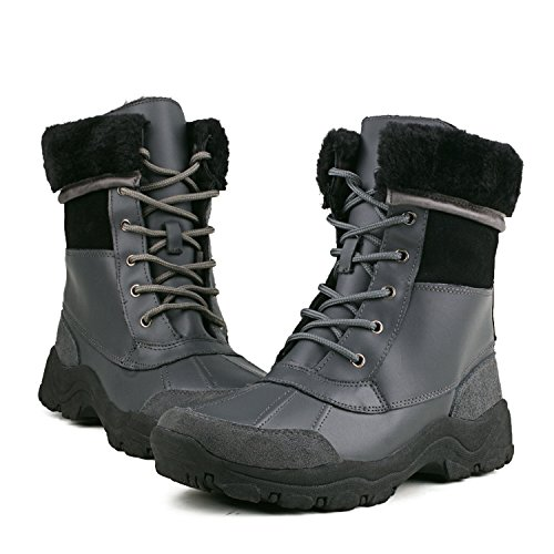e742f708719b AUSLAND Men s Mid-calf Waterproof Snow Boot Winter Boot C5521 on sale