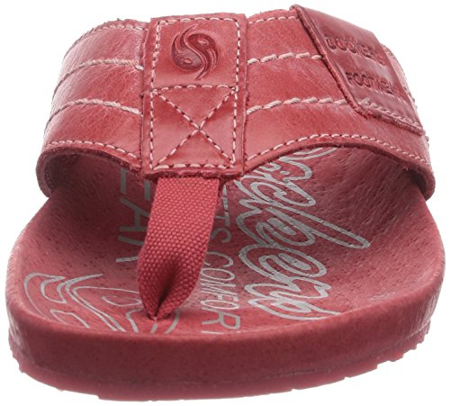 Rot by 36br201 Rot Mixte Claquettes Adulte Rouge 700 de Dockers Chaussures Gerli vUdww6