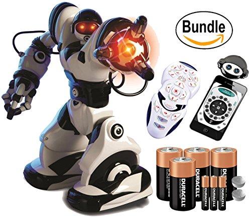Wowwee Robosapien X   Duracell Batteries Included  Bundle