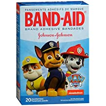 Band-Aid Bandages Nickelodeon Paw Patrol Assorted Sizes - 20 ct, Pack of 3
