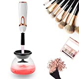 Electric Makeup Brush Cleaner and Dryer, Completely Cleans and Dries All Makeup Brushes in Seconds, Suit for All size Makeup Brushes