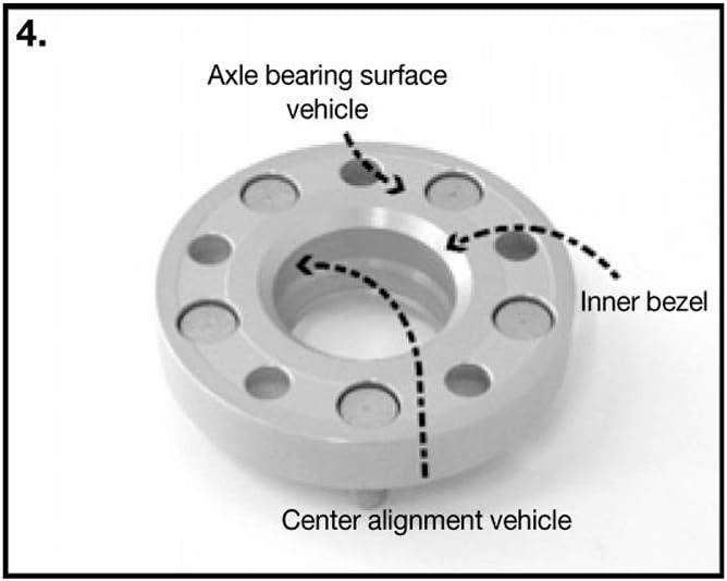 H/&R 4065608 DRM-System Wheel Spacer Set 40mm per axle Pattern 5x114,3-Hub 60,1mm-Bolt Size M12x1,25-Suzuki