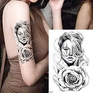 adgkitb 3 Piezas Tatuaje Temporal de Pantera Negra Tatuajes en el ...