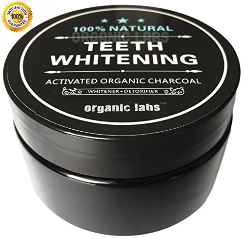 [ORGANIC LABS NATURAL TEETH WHITENING TOOTHPASTE POWDER - 100% ACTIVATED ORGANIC COCONUT CHARCOAL - FOOD GRADE - FROM ORGANIC LABS.] (Hydrogen Peroxide Soap)