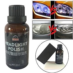 Shining Car Headlights Oxidation Liquid Ceramic Coat Super Hydrophobic Glass Coating