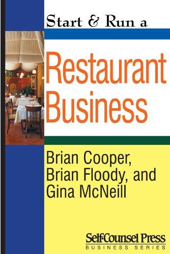 Start & Run a Restaurant Business (Start & Run Business Series)