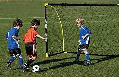 Franklin Sports Blackhawk Insta-Set Portable Soccer Goal - 6 x 4 Foot