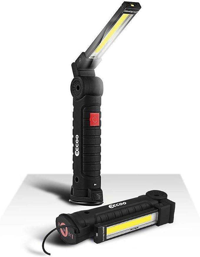 Lampe Torche Baladeuse LED 800LM Lampe Lampe de Travail LED 5 Modes