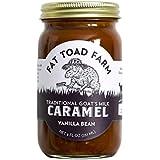 Fat Toad Farm Classic Caramel Jar, Vanilla Bean, 8 oz., Goat'S Milk, Cajeta, Gluten Free