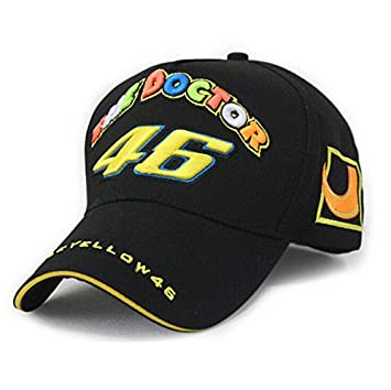 Gorra oficial VR46 Limited Edition Team Moto GP Valentino Rossi The Doctor valeyyellow: Amazon.es: Coche y moto