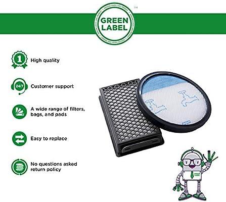Green Label Kit de Filtro de Espuma y Filtro HEPA para Las ...