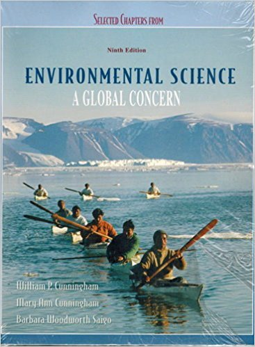 Selected Chapters from Environmental Science, a Global Concern, 9th edition, Custom printing 2007 (E (Environmental Science A Global Concern 9th Edition)