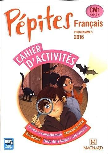Amazon Fr Francais Cm1 Pepites Cahier D Activites