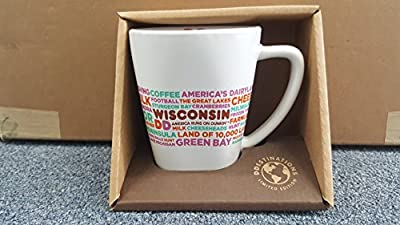 Dunkin Donuts, wisconsin Destinations Mug/Cup 12 oz. Limited Edition
