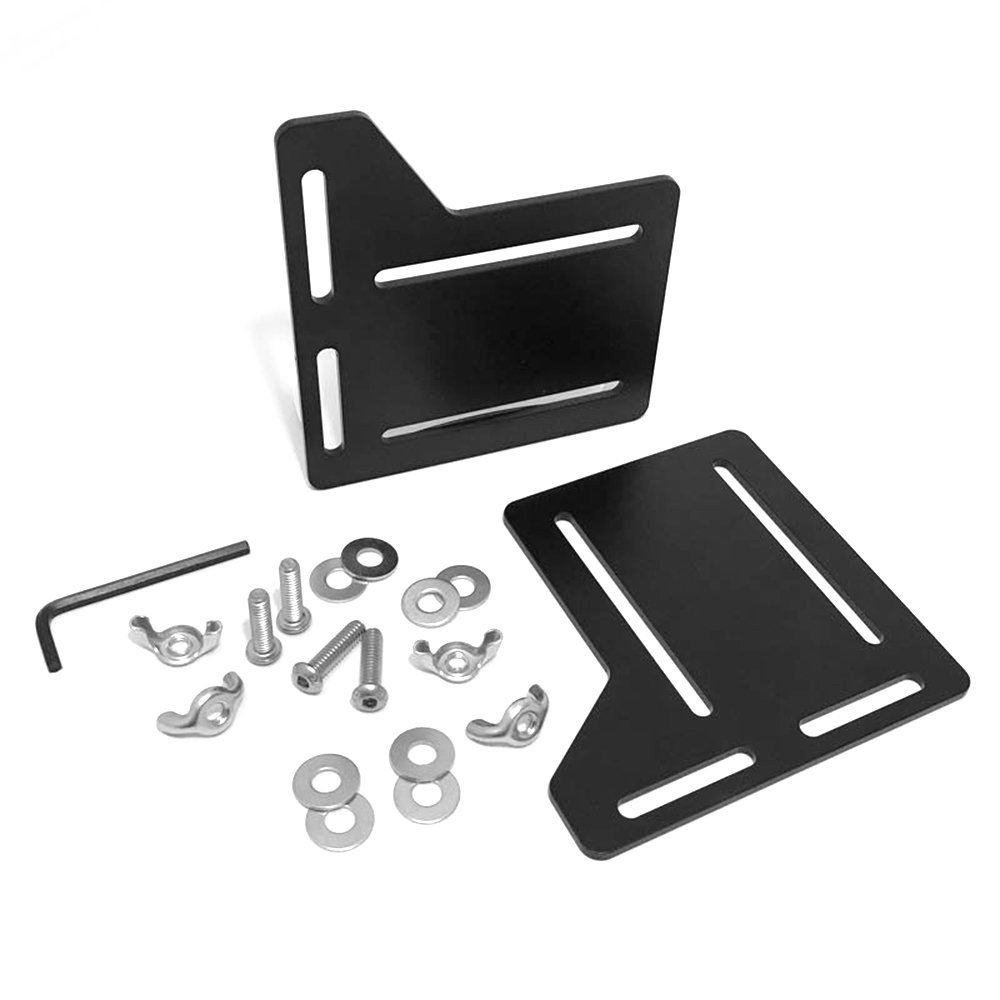 Tough Koala Full Set of Bed Headboard Modification Plates, Thick and Easy-Install Attachment Kit