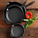 The Pioneer Woman Timeless Cast Iron 3-Piece Set