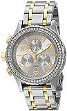 Nixon Women's A4041921 38-20 Chrono Watch, Silver/Gold