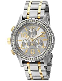 Nixon Women's A4041921 38-20 Chrono Watch