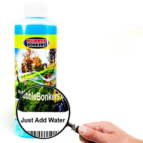 how to make big bubble solution