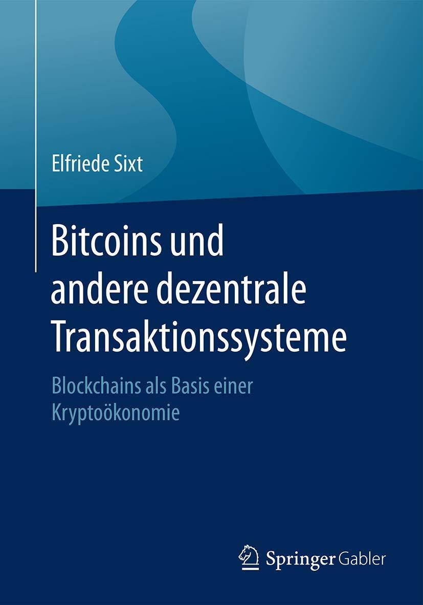 bitcoin und andere dezentrale transaktionsysteme