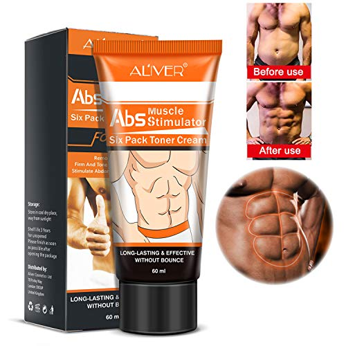 (Abdominal Muscle Toner, Sweat Enhancer Cream Belly Fat Burner Body Slimming Cream With HEAT Sweat Technology -Thermogenic Weight Loss Workout Enhancer)