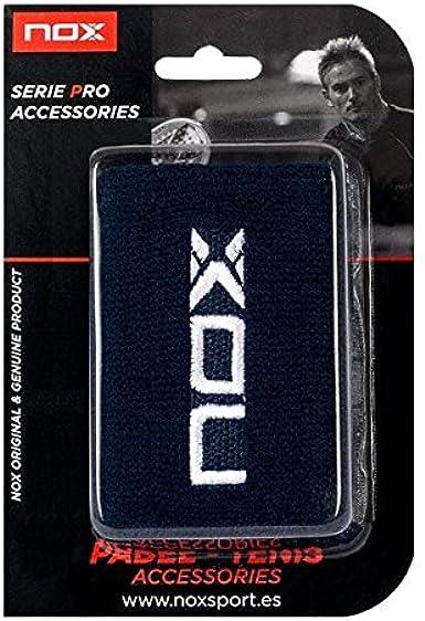 NOX Blister 2 Ud Muñequera, Unisex Adulto, Azul: Amazon.es: Ropa y ...