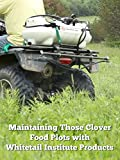 Maintaining Those Clover Food Plots with Whitetail Institute Products