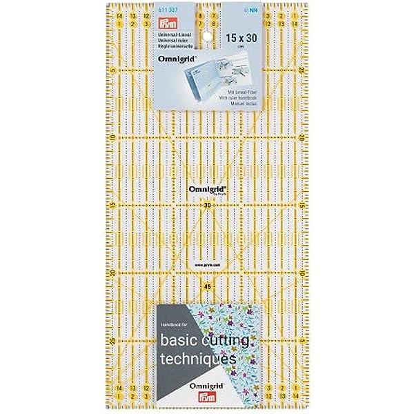 Omnigrid regla métrica 15cmX30cm-R1530