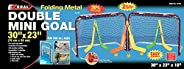 EZGoal 67202T Double Mini Folding Goal