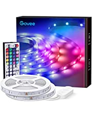 Govee LED Lights Strip, RGB Lights with Remote Control, 20 Colors and DIY Mode Color Changing Strip Lights, for Bedroom, Ceiling, Kitchen