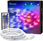 Govee LED Lights Strip, RGB Lights with Remote Control, 20 Colors and DIY Mode Color Changing Strip Lights, fo