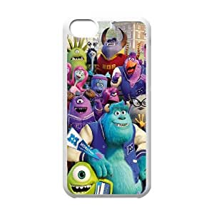 iPhone 5c Cell Phone Case White Monsters-Inc Unique Phone Case Covers Clear CZOIEQWMXN18940