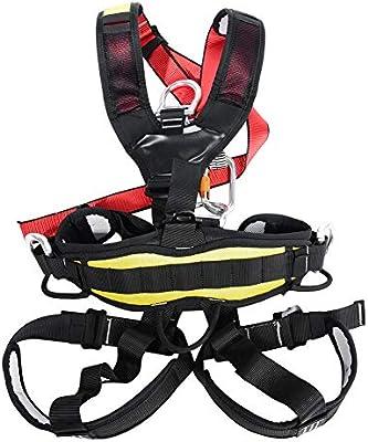 Alomejor Arnés de Escalada Cinturón de Seguridad de Todo el Cuerpo ...