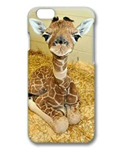 """Lilyshouse Baby Giraffe 002 Hard Protective 3D Cover Case for Iphone 6(4.7"""")"""