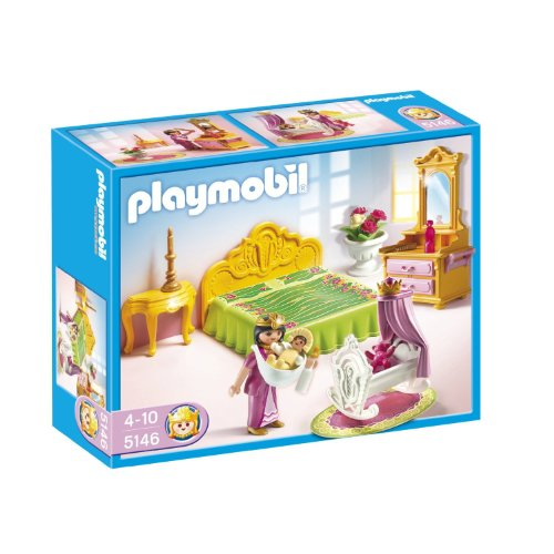 PLAYMOBIL® Royal Bed Chamber with Cradle
