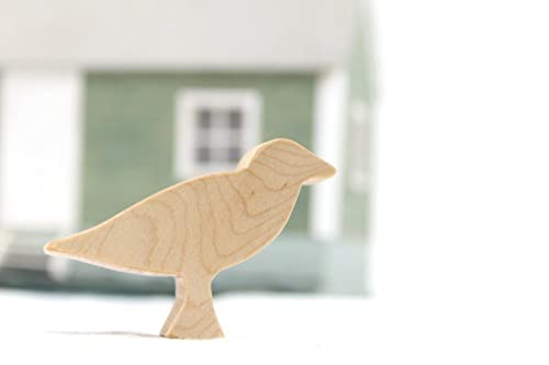 Wooden Bird Toy Seagull