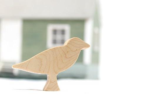 Wooden Bird Toy Seagull