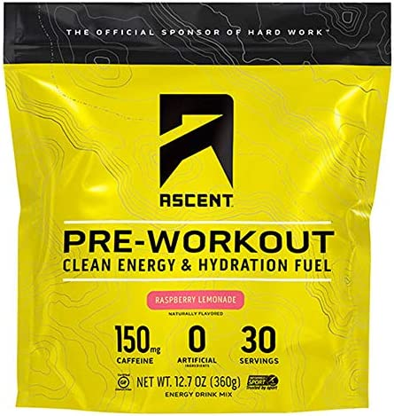 Ascent Pre Workout Raspberry Lemonade product image